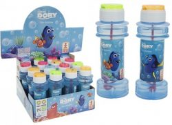 4 ASST STYLE 120ML FINDING DORY BUBBLE TUBS W/PUZZLE LIDS