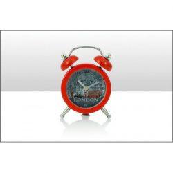 London Photo Montage Foil Travel Alarm Clock