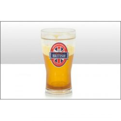 Best of British Liquid Filled Pint Glass