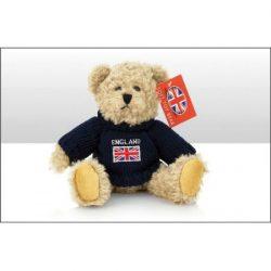 Union Jack Sweater Bear Soft Toy 28cm