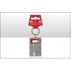 TBD Sketchy Phone Box Metal Keyring