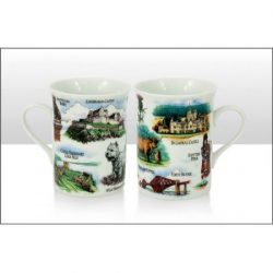 SCOTLAND COLLAGE MUG