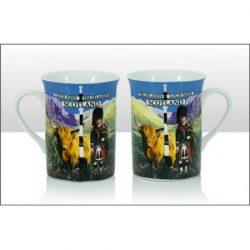 Highland Piper & Coo Lippy Mug
