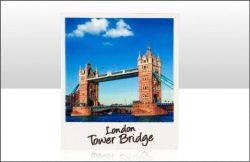 TBD Tower Bridge Polaroid Printed Resin Magnet