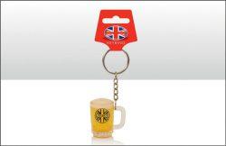 Mini Tankard Keyring – London
