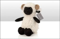 Soft Toy Ram Sitting 22cm