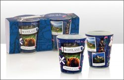 Scotland Snapshot Shot Glass set of 2