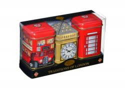 TRADITIONS OF LONDON TRIPLE TINS – 65g LOOSE TEA