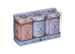 ENGLISH FINE TEA TRIPLE TINS – 70g  LOOSE TEA