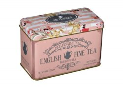 ENGLISH FINE BREAKFAST TEA TIN – 40 TEABAGS