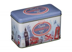 VINTAGE LONDON TEA TIN 40 TEABAGS