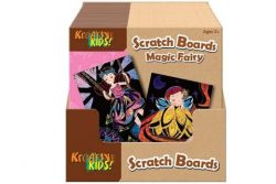TBD MAGIC FAIRY SCRATCH BOARD IN DISPLAY BOX