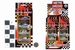4pc METAL CARS IN HANGING WINDOW BOX