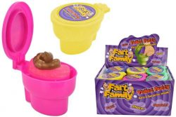 TOILET PUTTY (+ SURPRISE) IN DISPLAY BOX – FART FAMILY