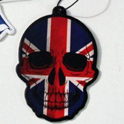 Vanilla Union Flag Skull Air Freshener
