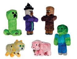 4 ASSORTED MINECRAFT CHARACTERS SERIES 2