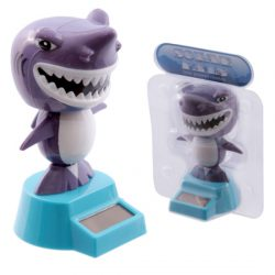 Novelty Shark Solar Powered Solar Pal