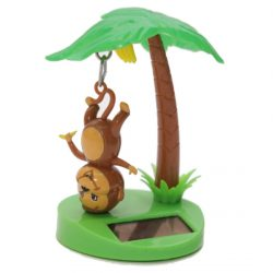 Hanging Monkey and Palm Tree Solar Pal