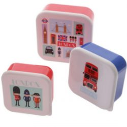 Set of 3 Lunch Boxes – Jack Evans London Icons
