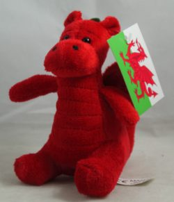 WALES PLUSH DRAGON MINI