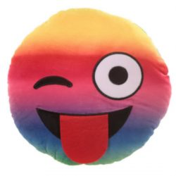 EMOTI CUSHION – RAINBOW WINK