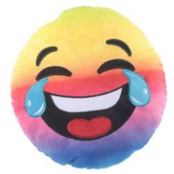 EMOTI CUSHION – RAINBOW LAUGHING