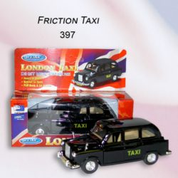 DIE CAST FRICTION LONDON CAB