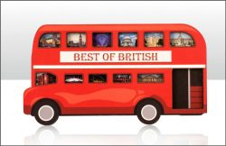 WOODEN MAGNET BUS LONDON IMAGES