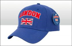 LONDON UNION JACK BASEBALL CAP