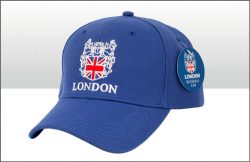 LONDON CREST BASEBALL CAP