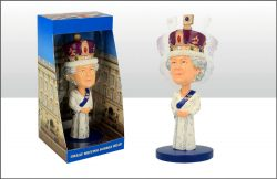 BOBBLE HEAD FIGURE THE QUEEN
