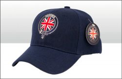 OXFORD UNION JACK ROUNDEL BASEBALL CAP