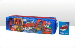 LONDON POP ART PENCIL CASE