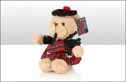 PLUSH PIPER BEAR 18cm