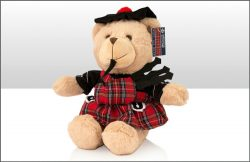PLUSH PIPER BEAR 25cm