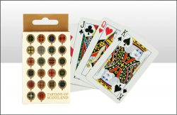 TARTANS OF SCOTLAND PLAYING CARDS
