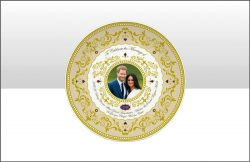 ROYAL WEDDING 2018 15cm PLATE