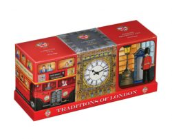 Traditions of London  (Bus, Big Ben, Guard) x3 Cartons