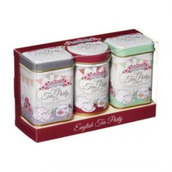 TBD English Tea Party Mini Tin Triple Pack