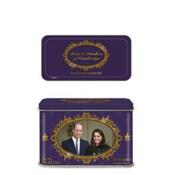 Duke & Duchess of Cambridge 40 Teabag Tin