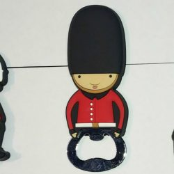 LONDON GUARDSMAN PVC BOTTLE OPENER