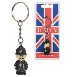 NOVELTY RESIN KEY-RING – POLICEMAN