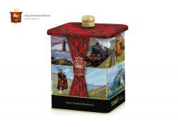 SCOTLAND 450g S/BREAD TIN BARRELS