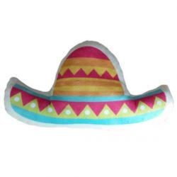 Sombrero Fiesta Plush Cushion