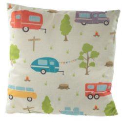 Caravan Cushion 43 x 43cm