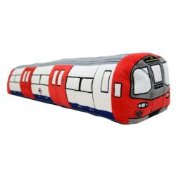 London Underground Train Plush Cushion Medium
