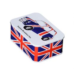 Brit Heritage Car UJ Sliding Lid Tin 10 English Teabags