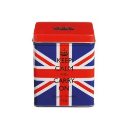 Mini Union Jack Tea Tin 10 English Breakfast Teabags