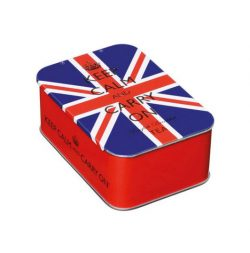 Union Jack Sliding Lid Tin 10 English Breakfast Teabags