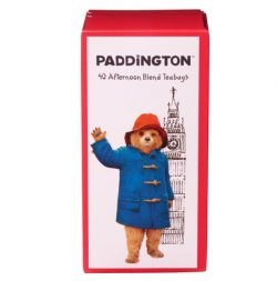 Paddington Bear Big Ben Tea Carton 40 Afternoon Blend Teabag